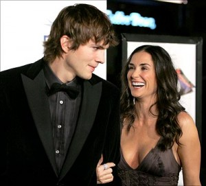 Ashton Kutcher vs. Demi Moore
