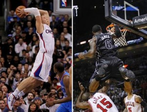 Blake Griffin vs LeBron