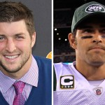 tebow vs sanchez